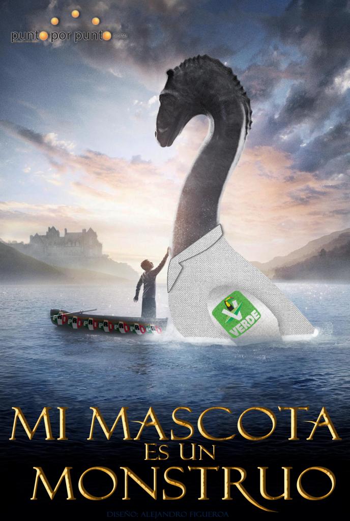 MI MASCOTA ES UN MONSTRUO