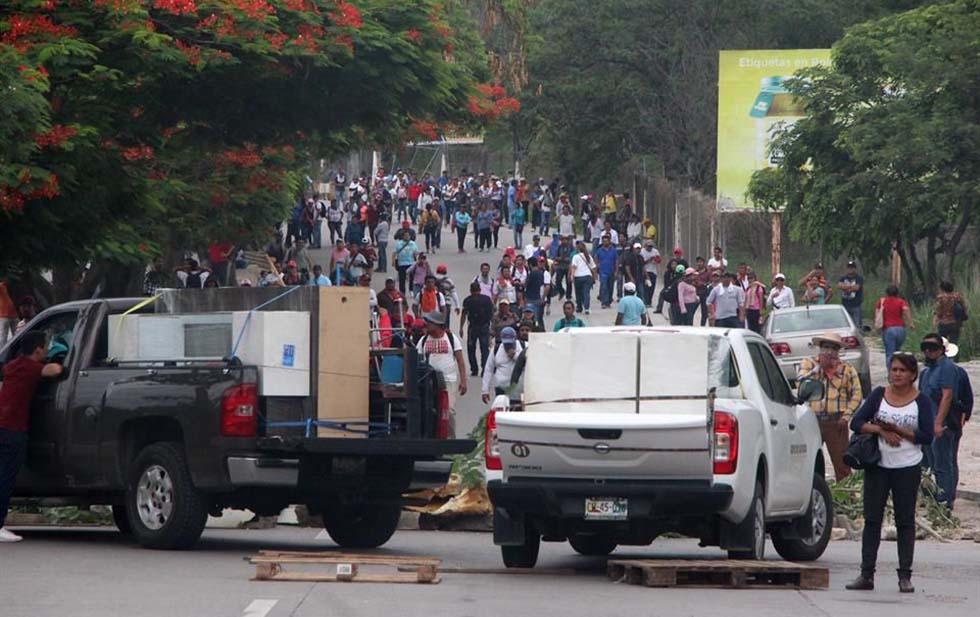 Cede Chiapas ante la CNTE. Noticias en tiempo real