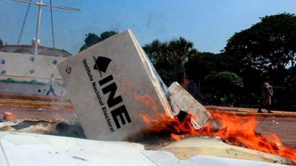 Lanzan un Basta Ya a violencia electoral. Noticias en tiempo real