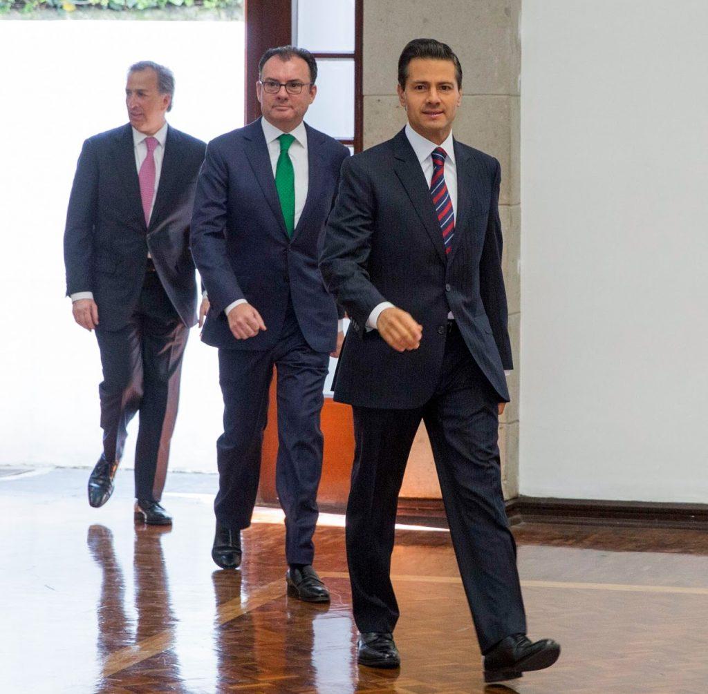 Deja Peña Nieto, junto a Videgaray y Meade, bomba de tiempo a AMLO. Noticias en tiempo real