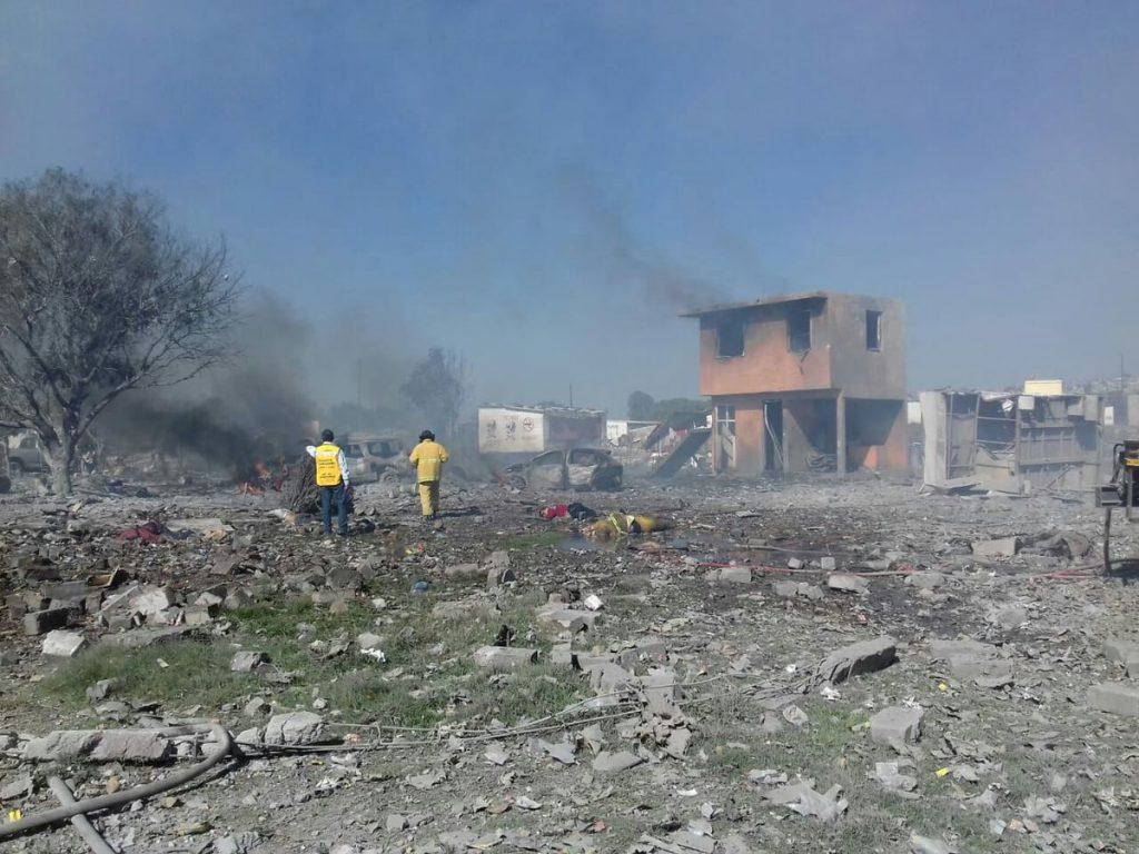 19 los muertos por explosiones en Tultepec. Noticias en tiempo real