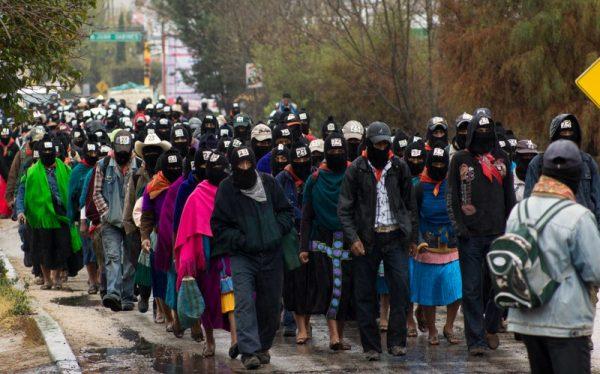 Solo el zapatismo repudia al nuevo presidente. Noticias en tiempo real