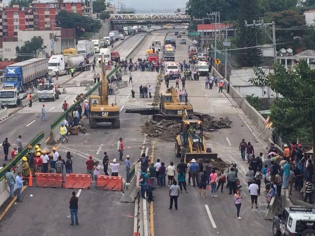 Paso Exprés, ejemplo de que Gobierna la Corrupción a México. Noticias en tiempo real