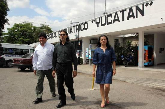 Primo Reyes Campos Director General del Hospital Psiquiátrico de Yucatán